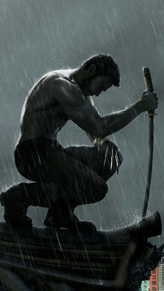 Logan - The Wolverine 💛🖤 Marvel Comic Universe, Comics Universe, Marvel Dc Comics, Marvel Heroes, Hugh Wolverine, Marvel Wallpaper, Wallpaper Wallpapers, Joker Art, Comics