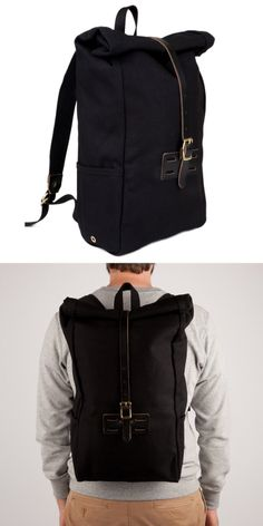 Archival Roll Top Rucksack