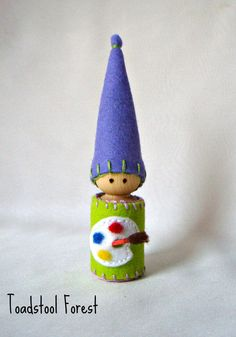 Waldorf Daily Rhythm Gnome  Paint the by TheToadstoolForest, $15.00