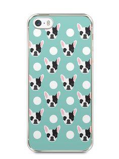 Capa Iphone 5/S Cachorros Bulldog Francês - SmartCases - Acessórios para celulares e tablets :)
