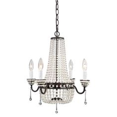 I pinned this Aurora Chandelier from the Vintage Verve event at Joss and Main!