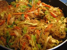 Recipe PANCIT BIHON. Seems like a lot of work but I may try it just because of the lack of Filipino restaurants in Georgia. :/