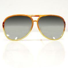 '70s Orange Aviators, $80, now featured on Fab.