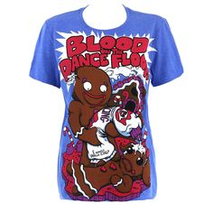 Blood On The Dance Floor Icing On Top Skinny Fit T Shirt (Blue)