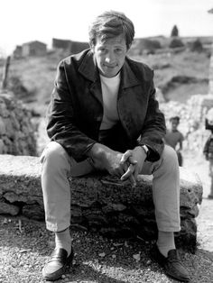 Alain Delon, French Films, Jeans, Persona, Hollywood, Actresses, Ladder, Beautiful, Royalty