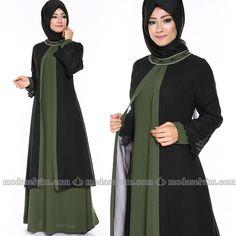 Abaya Fashion, Muslim Fashion, Fashion Dresses, Maxi Dresses, Abaya Pattern, Kurta Designs, Hijab Outfit, The Dress, Clothing Patterns