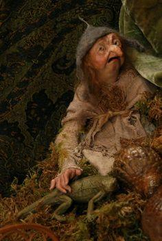 Anna Brahms faerie puppet
