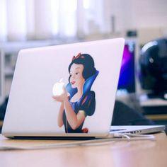 Snow White Mac Book Cover