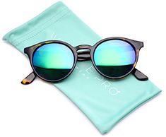 045416af430 WearMe Pro Classic Small Round Retro Sunglasses