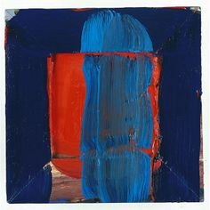 Howard Hodgkin- The Red Door 1993 - 1996 oil on wood 10 x 10 ¼ inches x 26 cm) Kunst Online, Online Art, Art And Illustration, Abstract Expressionism, Abstract Art, Abstract Paintings, Howard Hodgkin, Modern Art, Contemporary Art