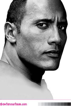dwayne johnson drawings | Dwayne The Rock Johnson Drawings How to draw dwayne johnson the