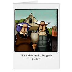 Thanksgiving Humor Greeting Card