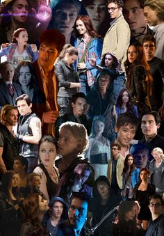 TMI: City of Bones collage {found on Tumblr} omg look at jace and Isabelle this is not funny people
