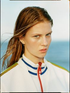visual optimism; fashion editorials, shows, campaigns & more!: the life aquatic: florence kosky by matteo montanari for teen vogue march 2015