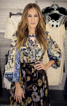 Clearing it up: Sarah Jessica Parker, 50, is adamant that she and her famous Sex and the City character Carrie Bradshaw actually have little in common