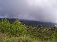 Sierra de Mariola (Alcoy) Dia de lluvia