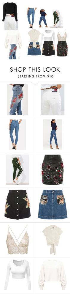 """nätt stuss"" by fanny-monnig on Polyvore featuring Missguided, Tommy Hilfiger, Topshop, STELLA McCARTNEY, Miss Selfridge and Helmut Lang"