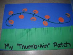 "The ""Thumb-kin"" Patch - Totally cute & easy. Used this project to help the 3 & 4 year old practice using scissors, tracing lines, & following directions. It was quick so it held their attention perfectly."