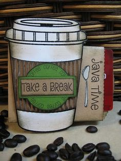 Annette's Creative Journey: Frugal Friday - Coffee Card