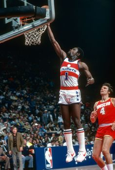 Kevin Porter of the Washington Bullets 1980