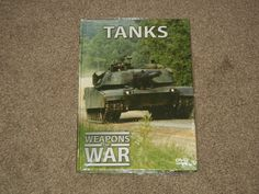 TANKS Weapons of War Booklet & Quiz (Collectibles, DVD, IMP, 40 Minutes)
