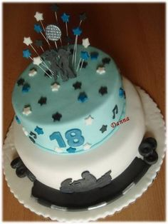 18th Birthday cake 18th Birthday Cake, Cakes, Desserts, Food, Tailgate Desserts, Deserts, Cake Makers, Kuchen, Essen