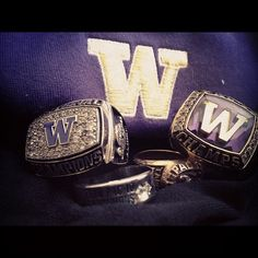 Some UW Softball Bling!