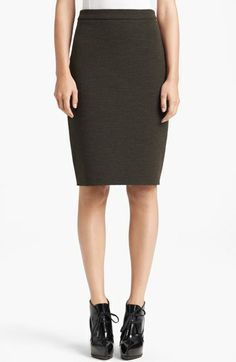 Lanvin Slim Jersey Skirt available at #Nordstrom