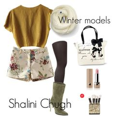 """""""Winter models"""" by shalinisemail on Polyvore featuring Muk Luks, Schumacher, BCBGeneration, Keds, Marc Jacobs, women's clothing, women, female, woman and misses"""