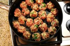 MEATBALLS....MADE OURS WITH GROUND VENISON- AMAZING!