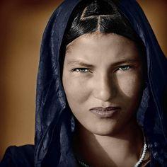 Tuareg woman, Sahara Desert, Mali, West Africa