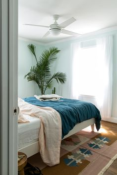A Finished Master Bedroom with BEHR | The Fresh Exchange