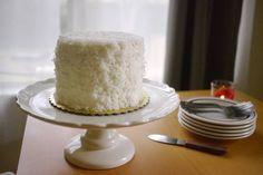 Coconut Cake #coconut #cake #SomethingSweetTX