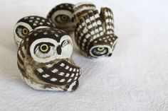 cutie owls Klot, Knip & Burr by Edvard Lindahl