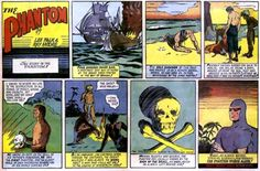 First Phantom Sunday strip.jpg.  Loved this, as well as Brenda Starr, Dick Tracy, Rex Morgan, M.D., Mary Worth, Prince Valiant.  Does anyone else remember these, or am I a dinosaur?