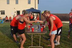 Team Studer: Annual Studer's Invitational Beer Olympics - Note: game rules link near end of article. Beer Olympics Party, Drinking Games For Parties, Bachelorette Party Themes, Olympic Games, Party Games, Summer Fun, Summer Parties, Blog, Party Ideas