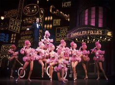 Bobby (Harry Groener) and the Follies Girls in Crazy For You