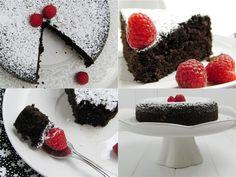 Red Wine + Chocolate Cake