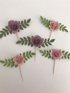 Shabby chic paper flower cupcake toppers , tea party decor - My etsy - Shabby Chic Paper, Shabby Chic Decor, Shabby Vintage, Shabby Chic Flowers, Vintage Paper, Tea Party Decorations, Baby Shower Decorations, Shabby Chic Baby Shower, Flower Cupcakes