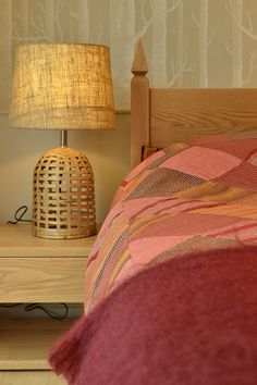 The red madras #patchwork duvet set from Natural Bed Company (a shop pic showing their Mandalay bed and Cube table too!) http://www.naturalbedcompany.co.uk/shop/indian-cotton-silk-duvet-covers/new-madras-patchwork-duvet-cover/