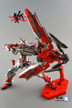 MG 1/100 Gundam Astray Red Frame Kai - Painted Build