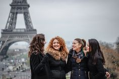Girls wanna have Fun at the Eiffel Tower - WESHOOT Paris Photo Session
