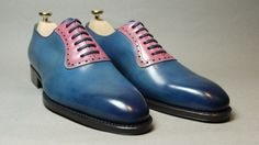 How could a girl deny a groom wearing such dapper shoes?
