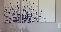 DIY wall art | Canvas Decor