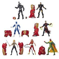 Avengers Marvel Legends Action Figures Wave 3 Rev. 1 Case - Hasbro - Avengers - Action Figures at Entertainment Earth
