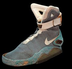 0f0c870c13ea Marty McFly Nike MAGs - These famous Marty McFly Nike MAGs will have  hardcore fans of  Back to the Future  rejoicing. These vintage beauties are  officially ...