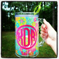 Gotta have my #icewater #crazystraw #monogramitall