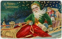 Un joven Santa Claus