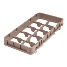 "Cambro 17-Compartment Half-Size Half Drop Extender, Beige - Case = 12 by Cambro. $100.60. HALF DROP EXTENDER, HALF SIZE, 17-COMPARTMENT, 19-3/4"""""""" X 10"""""""" X 2"""""""", ADDS 1-5/8"""""""" TO RACK HEI GHT, FOR CAMRACKS, BEIGE 273134 - Case = 12. Save 39% Off!"