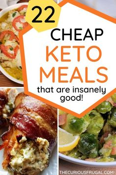 Keto foods aren't known for being cheap but there are lots of ways to eat keto on a budget! Here are 10 ways to save money on the keto diet, plus recipes